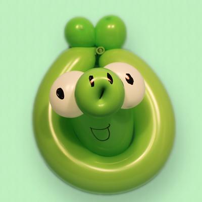 Balloon Evil Piggy