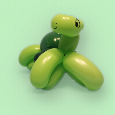 Balloon Turtle