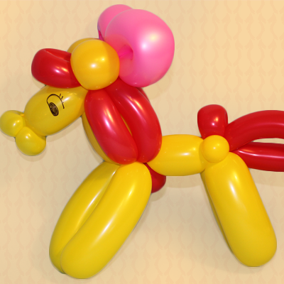 Balloon Friendly Little Pony