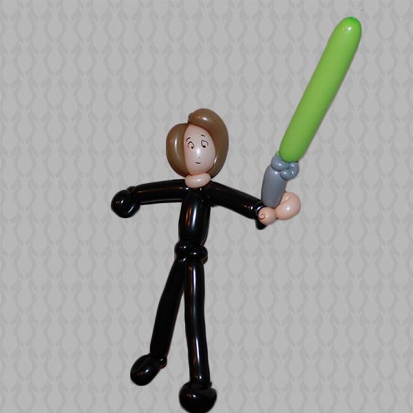 Luke Skywalker Face Paint